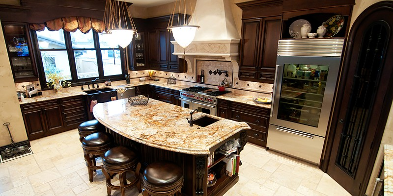 Hi Design Custom Cabinetry ~ Burnaby home with a tuscan touch hi design
